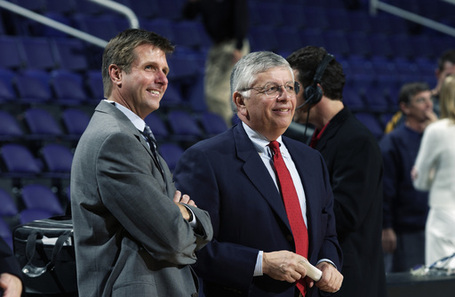 109476_rick_welts_president_chief_operating_officer_of_the_phoenix_suns_talks_with_nba_commissioner_david_stern_medium