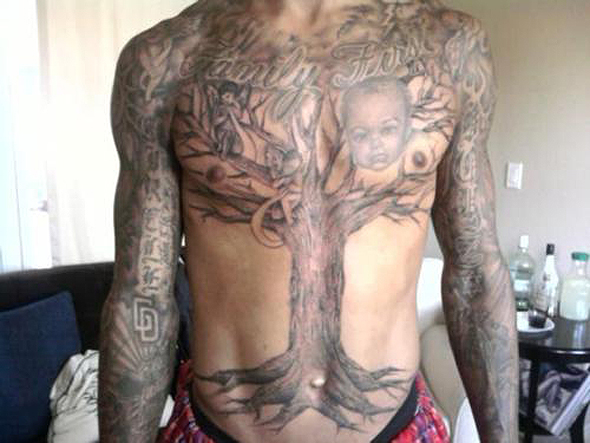Where Amazing Happens: Monta Ellis Tatoos A Gigantic Tree On His Chest