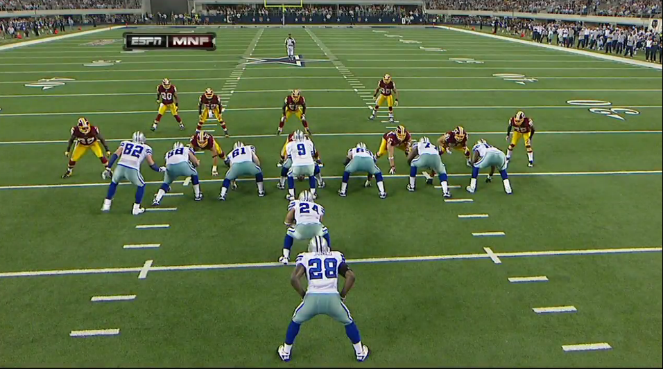 Cowboys Vs Redskins Film Review Top 5 Offensive Plays