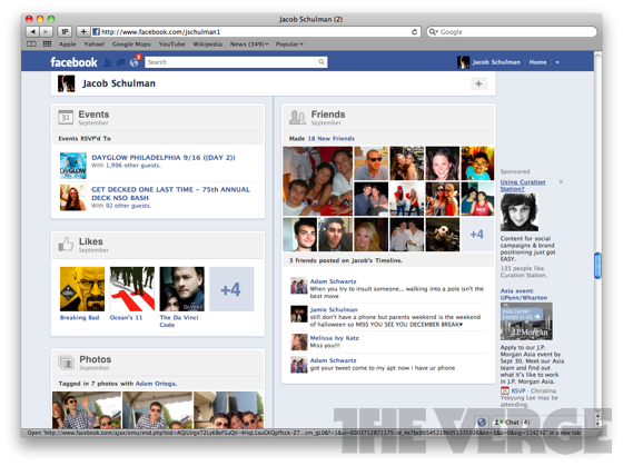 facebook timeline preview and photos a personal tour