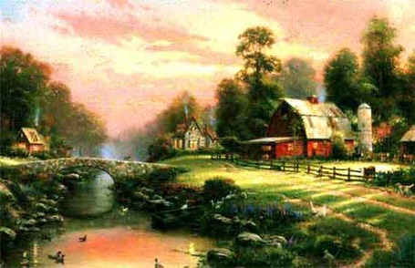Kinkade_sunsetriverbendb_medium