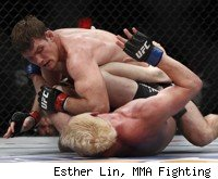Bisping beats Mayhem Miller at TUF 14 Finale.