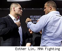 Cain Velasquez and Junior dos Santos will fight in the main event of UFC on FOX.