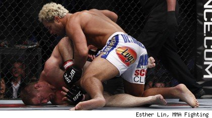 Josh Koscheck beats Matt Hughes at UFC 135.