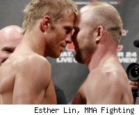 Nick Ring fights Tim Boetsch at UFC 135.