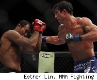 Luke Rockhold Upsets Jacare for Strikeforce Middleweight Title.