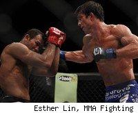 Luke Rockhold Upsets Jacare for Strikeforce Middleweight Title.