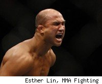 BJ Penn faces Nick Diaz at UFC 137.