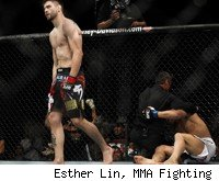 Carlos Condit defeats Dong Hyun Kim at UFC 132.