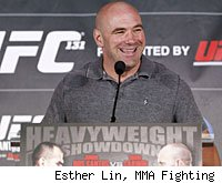 Dana White will answer questions from the media at the UFC 132 press conference.