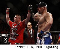 Brock Lesnar and Shane Carwin
