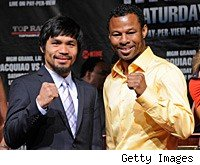 Manny Pacquiao and Shane Mosley will fight Saturday night in Las Vegas.