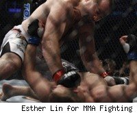 Vladimir Matyushenko defeated Jason Brilz at UFC 129.
