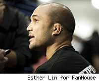 You can watch B.J. Penn and Jon Fitch fight at UFC 127 live online on mmafighting.com.