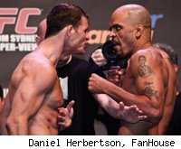 Michael Bisping takes on Jorge Rivera at UFC 127.