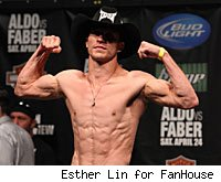 Donald Cerrone will weigh in for WEC 53 on Wednesday.
