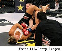 Ronda Rousey continues her sizzling start to MMA.