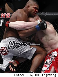 Alistair Overeem defeated Brock Lesnar in the main event of UFC 141.