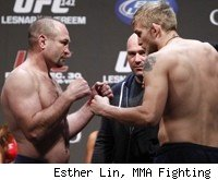 Vladimir Matyushenko faces Alexander Gustafsson at UFC 141.
