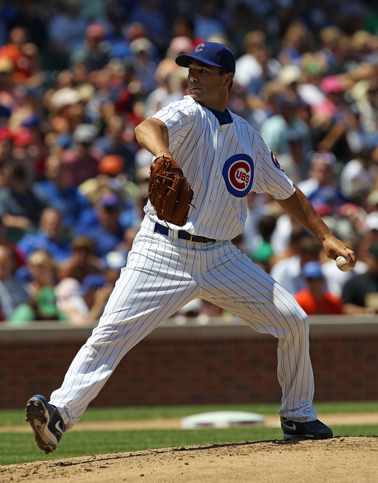 on july 16 2010 in chicago illinois  the cubs defeated the phillies 4 3
