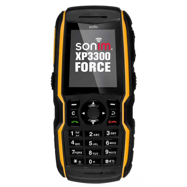 Sonim xp3300 yellow