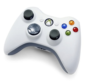 Xbox-360-white-wireless-controller