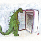 Godzillaemptyfridge
