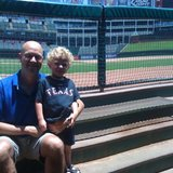 Matthew_and_rangers_ballpark