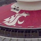 Coug_logo_on_space_needle