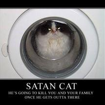 Satan-cat-demotivational-poster