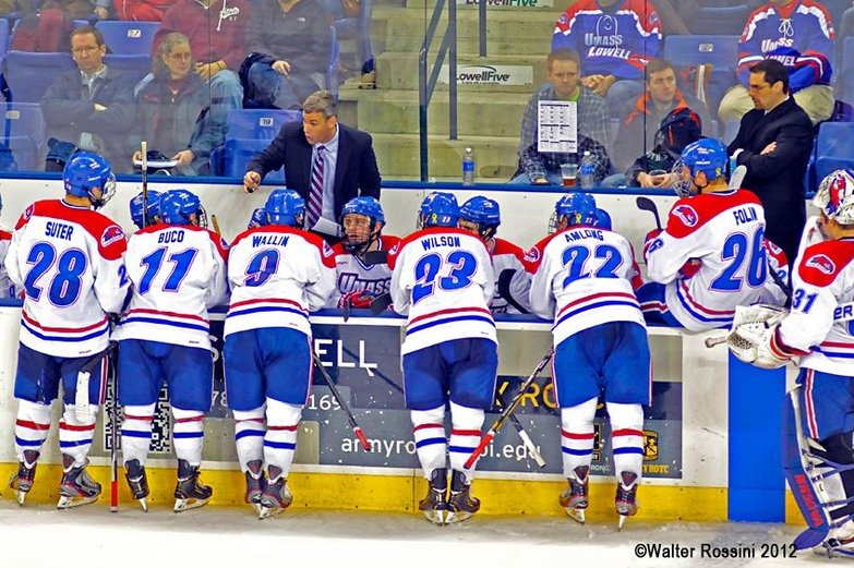 NCAA: Frozen Four 2013 - UMass Lowell Focuses On Own Game Plan To Advance