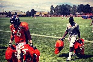 Broncos camp