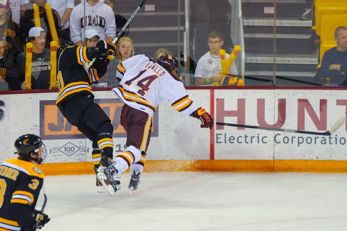 NCHC: Colorado College Falls 5-1 To Minnesota Duluth