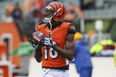 A.J. Green takes blame for Andy Dalton's interceptions