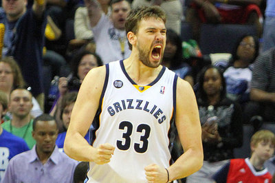 Marc Gasol could possibly return to the Grizzlies within a month