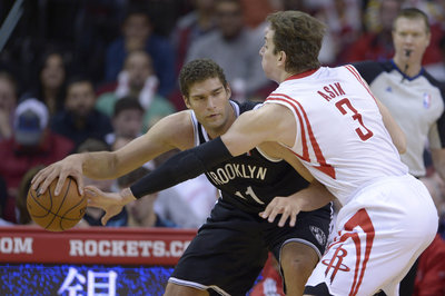 Brook Lopez returns, but so do the 'No-Show Nets,' as they're blown out in Houston, 114-95