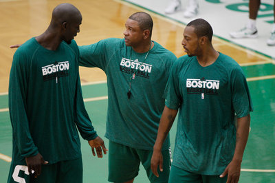 Doc Rivers hints of misuse of Paul Pierce and Kevin Garnett
