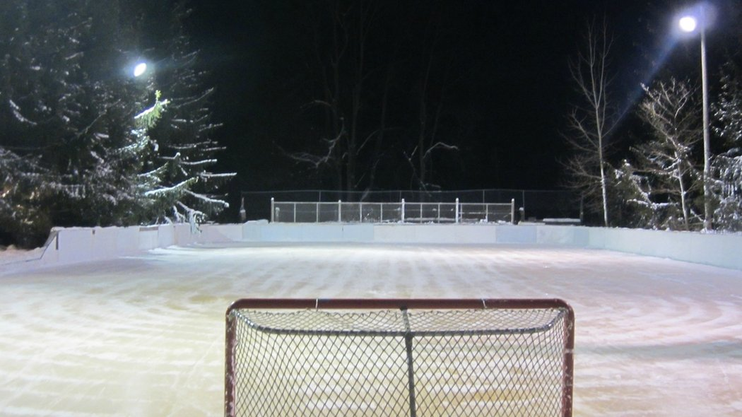 Rink of Dreams Michigan family built an amazing outdoor hockey rink