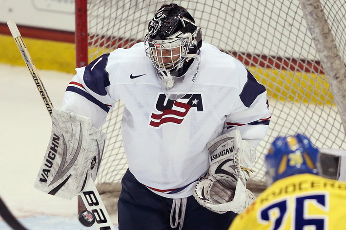 WJC: 2014 - Jon Gillies Poised To Lead United States