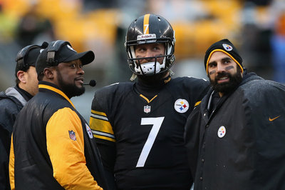 Steelers indicated to Ben Roethlisberger they intend to draft a 'tall' receiver in the first or second round