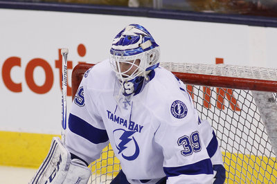 Lightning recall Vladdy Namestnikov, send goalie Anders Lindback to Syracuse for conditioning