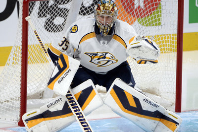 Saturday's Dump & Chase: Pekka Rinne Plays First Game, Moves Closer to Return