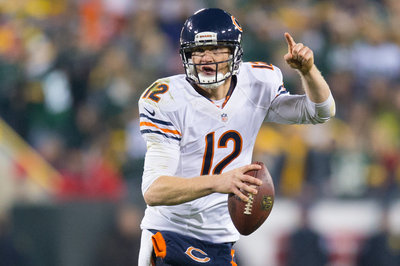 Is Josh McCown too popular for the Chicago Bears?