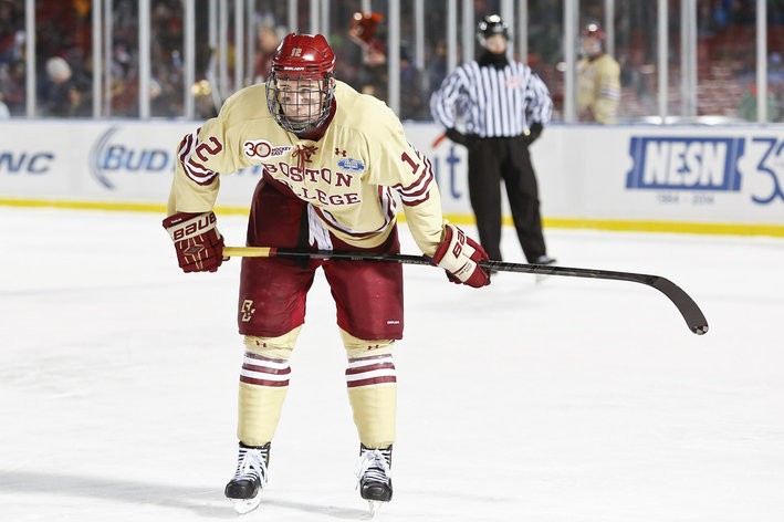 NCAA: The Top 100 NHL Prospects In College Hockey - 1-20