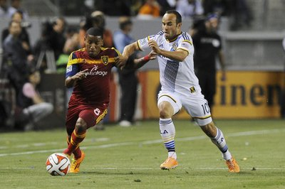 RSL victorious over LA Galaxy in nervy 1-0 win on Plata goal, Rimando save