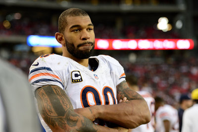 Chicago Bears terminate contract of defensive end Julius Peppers