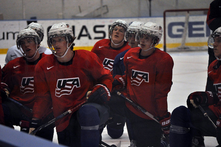 WJC: Team USA Impressive In First Exhibition; Beat Sweden 3-2 In OT