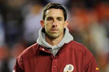 Redskins offensive coordinator Kyle Shanahan