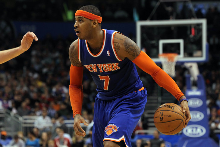 Anthony anota 40 puntos en victoria de Knicks