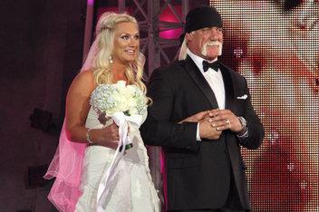 Brooke Hogan wedding with boob slip does big ratings for TNA on Spike